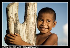 Niño del Delta del Orinoco, Venezuela.