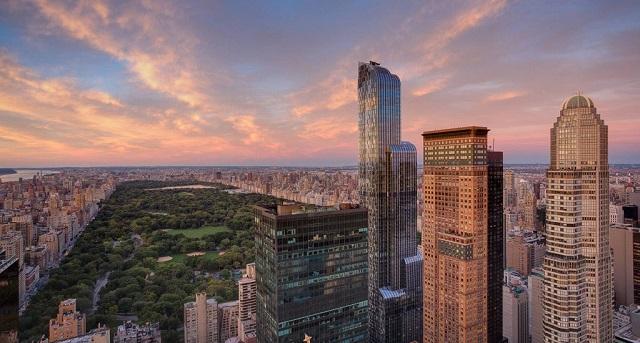 dormir en un rascacielos los hoteles ms altos de nueva york