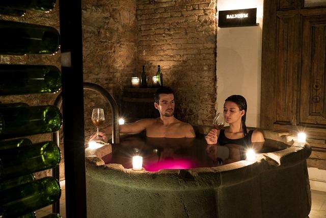 Baño de vino Aire Barcelona